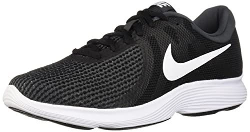 696ca2172dc7f Nike Men s Revolution 4 Black White-Anthracite Running Shoes-10 UK India