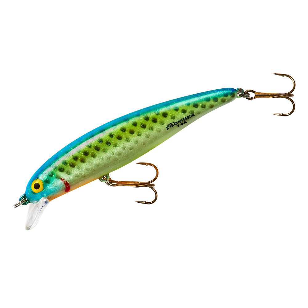 Bomber long a fishing lure fishing diving for Spinner fishing lures