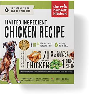 product image for The Honest Kitchen Dehydrated Grain Free Limited Ingredient Dog Food