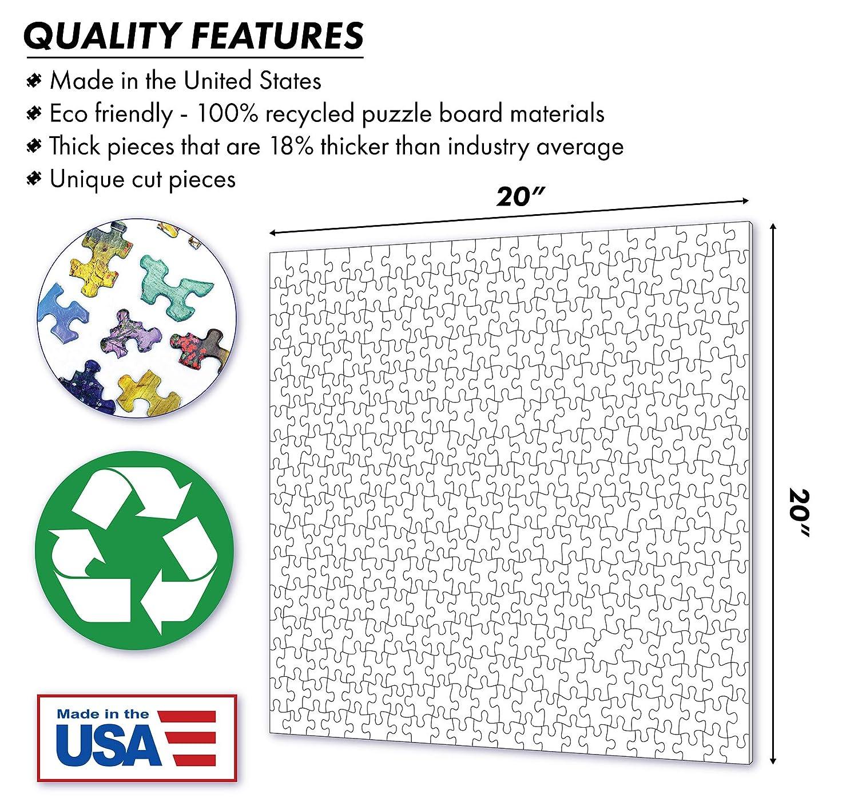Springbok in Bloom 500 Piece Jigsaw Puzzle SG/_B078N5YY9C/_US
