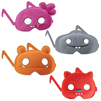 """UglyDolls Movie"" Assorted Party Favor Diecut Paper Glasses, 8 Ct.: Toys & Games"