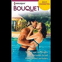 Storm van verlangen ; Betaalde bruid ; Vlam uit het verleden (Bouquet Favorieten Book 636)