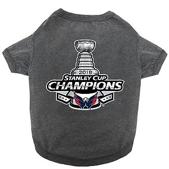 Amazon.com   NHL Washington Capitals Championship Tee Shirt for Dogs    Cats 2832f99992d