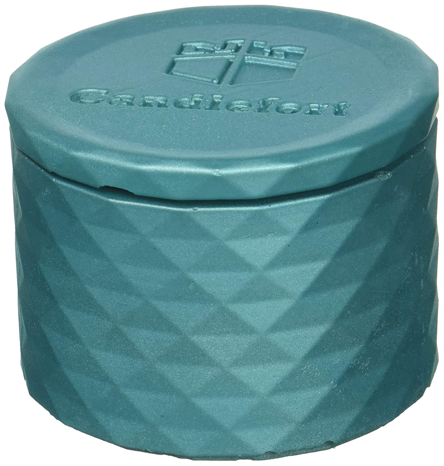 Scent Marine Blue Candellana Candles Candlefort Concrete Candle Lavender Hill Poly I