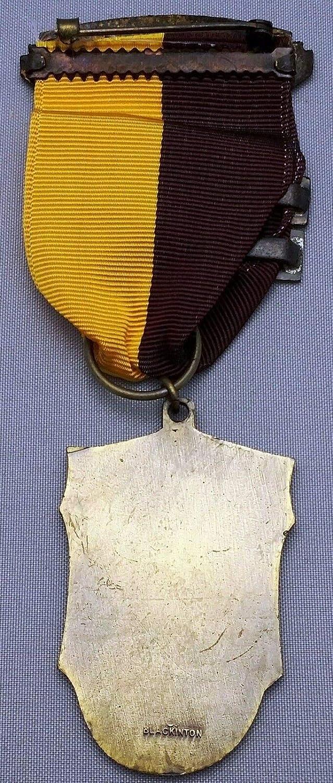 1953 CCAM National Matches .22 Aggregate Sharpshooter Class 1st Medal