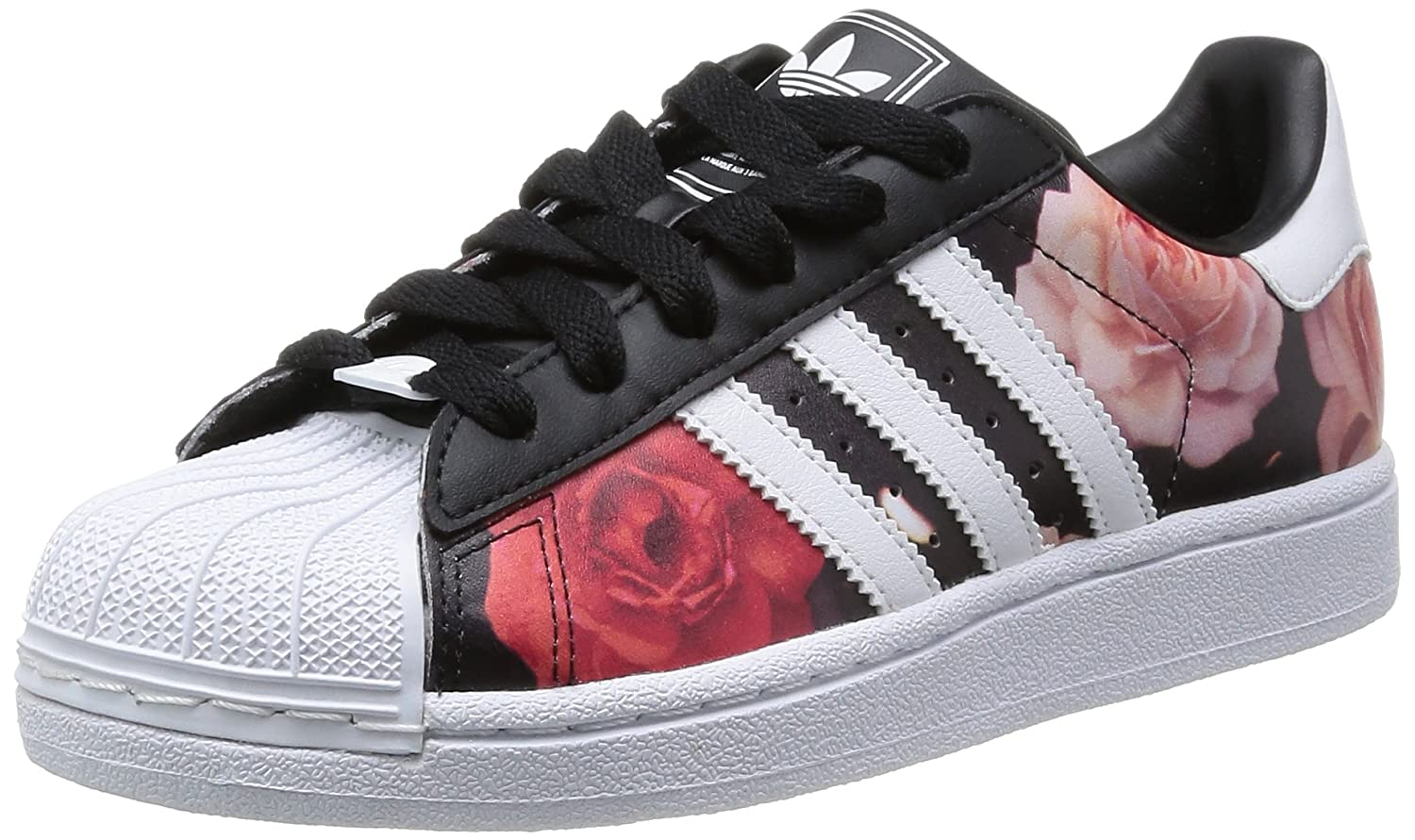Adidas Originals Superstar II Womens Trainers Rose Red Black Sizes 3.5 To 7  New (UK 7 (EUR 40 2 3))  Amazon.co.uk  Shoes   Bags 5525485e7