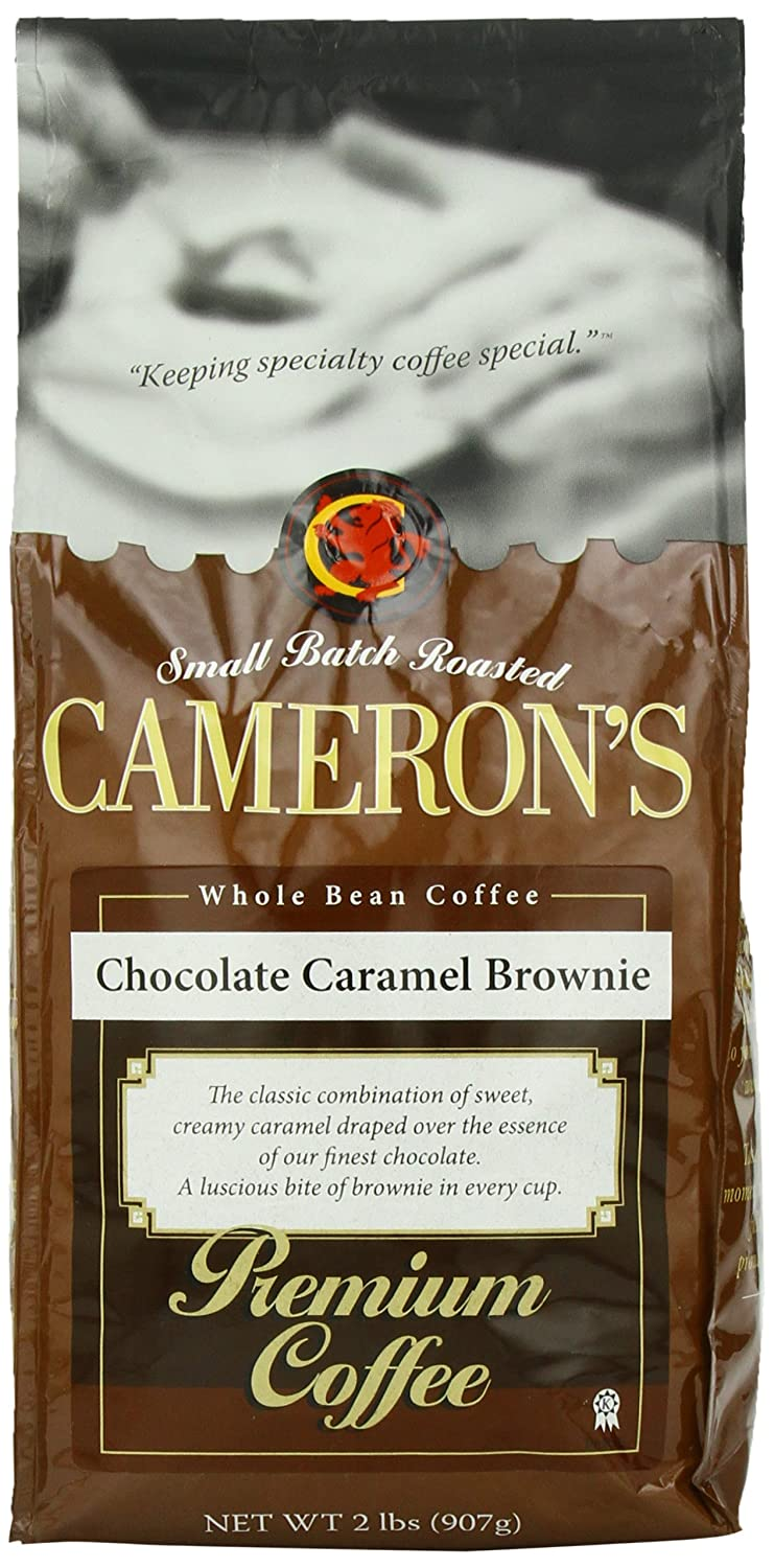 Amazon.com : Cameron's Whole Bean Coffee, Chocolate Caramel ...