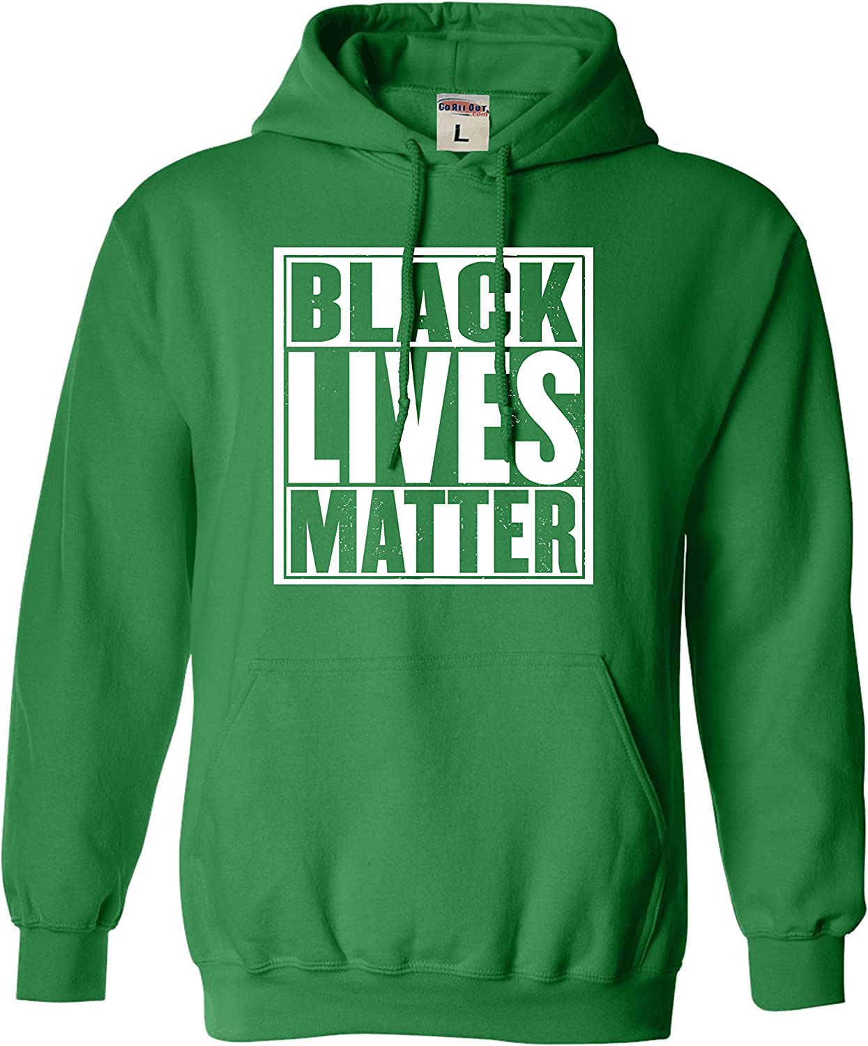 Go All Out Adult Black Lives Matter Sweatshirt Hoodie
