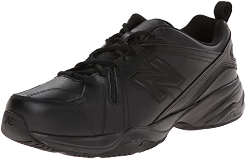 New Balance Men's MX608V4 Training Shoe,Black,9.5 4E US