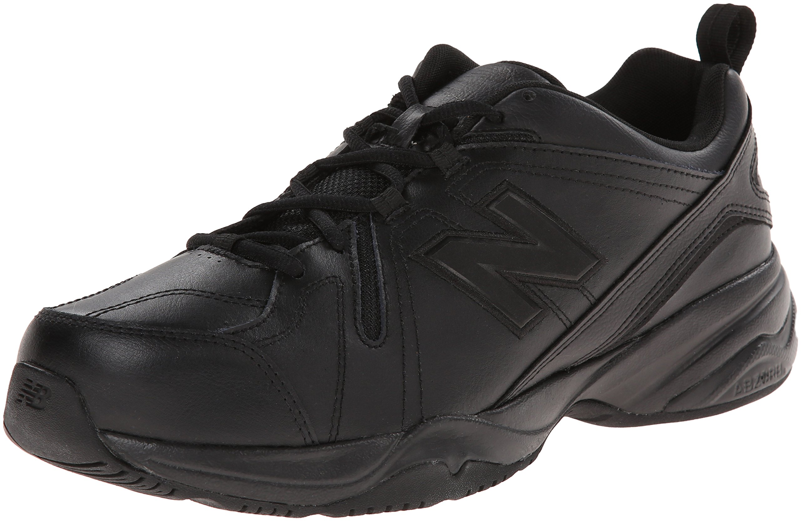 New Balance Men's MX608v4 Training Shoe, Black, 8 D US by New Balance (Image #1)