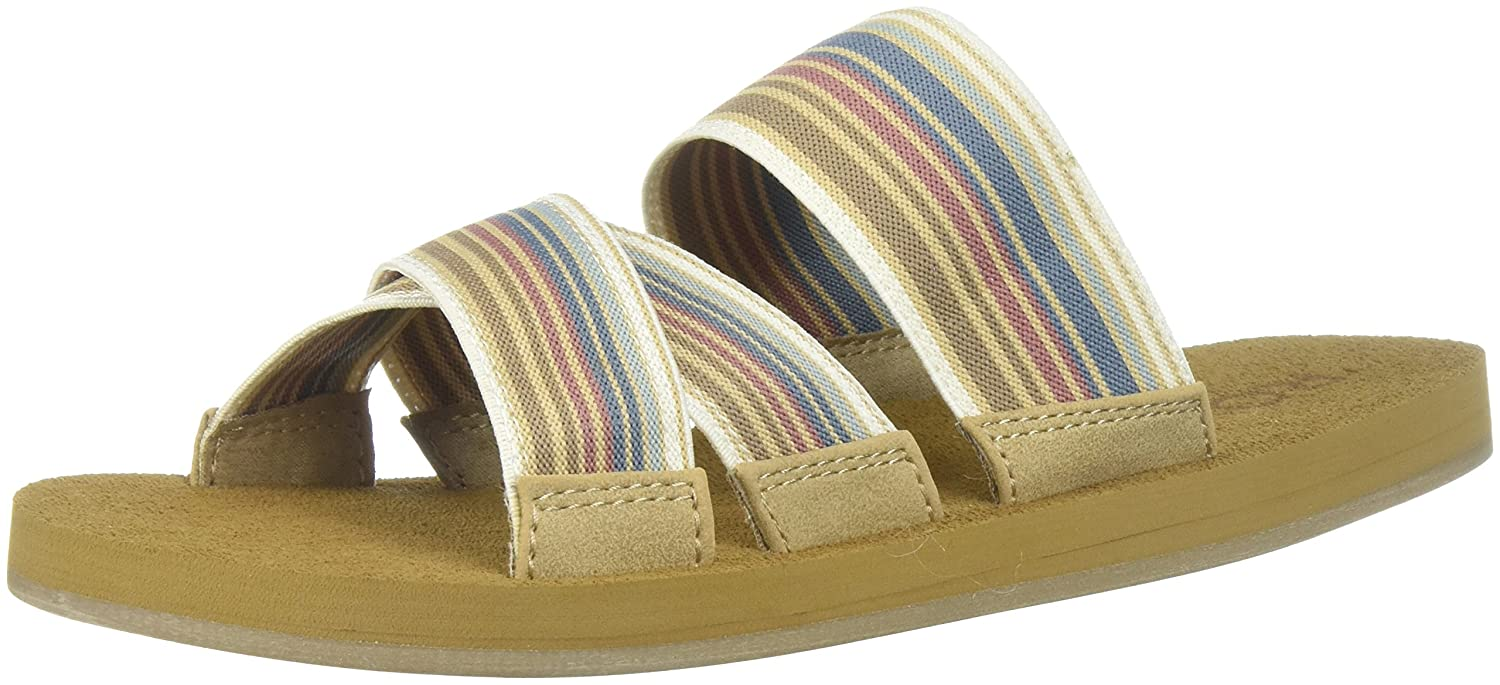 Roxy Women's Shoreside Sport Sandal B072R38MSG 10 B(M) US|Multi