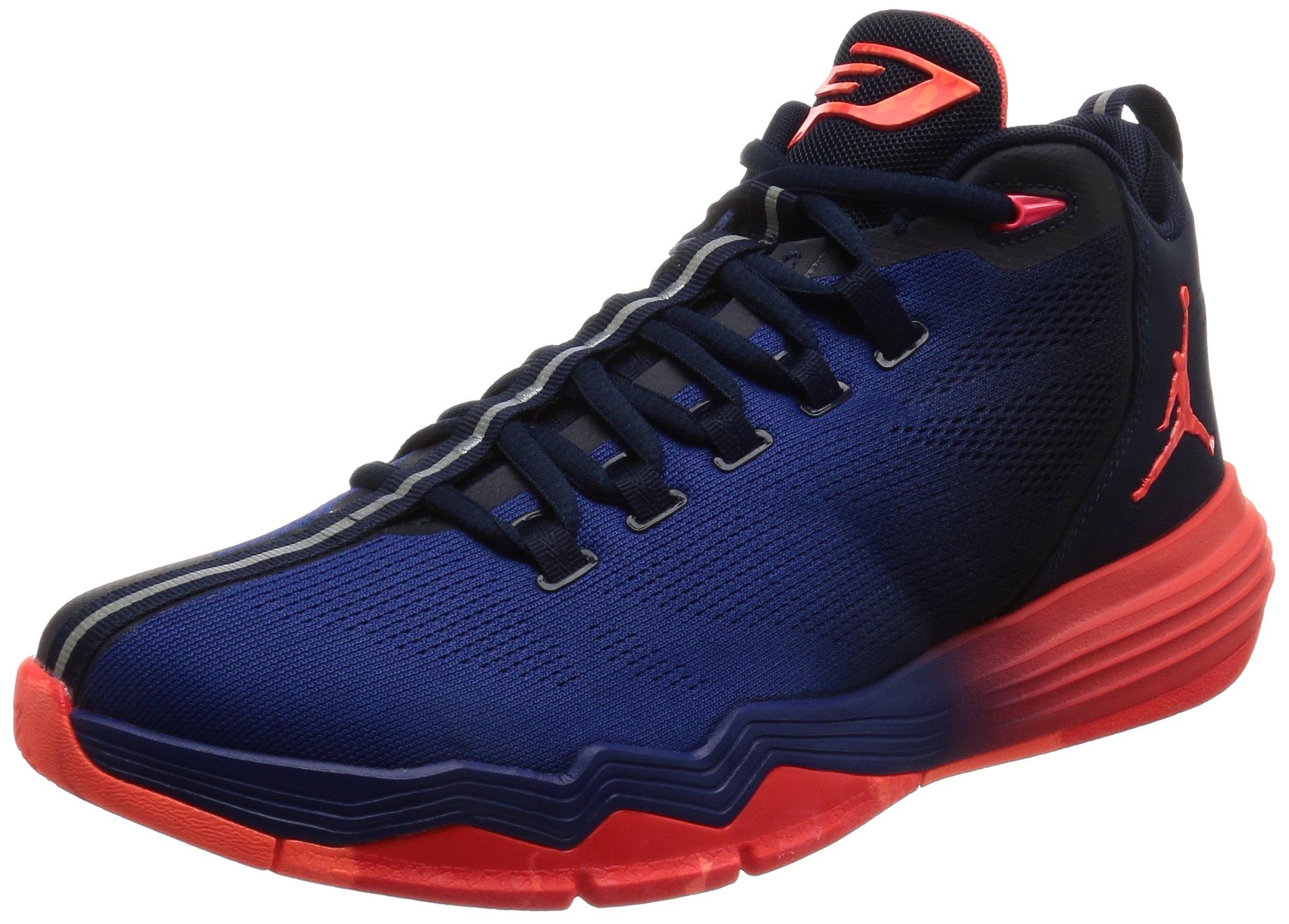 8aa10d14648a Jordan Men Jordan CP3.IX AE Basketball Shoe (navy   obsidian   infrared  23-deep royal blue) Size 10 US