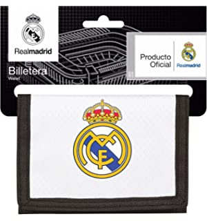 Real Madrid 811854036 2018 Tarjetero, 12 cm, Blanco
