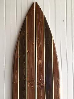 Amazon Com Surfboard Wall Hanging Art Vintage Surfing Decor