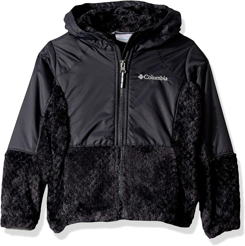 Columbia Girl/'s Fire Side Sherpa Hybrid Full Zip Jacket