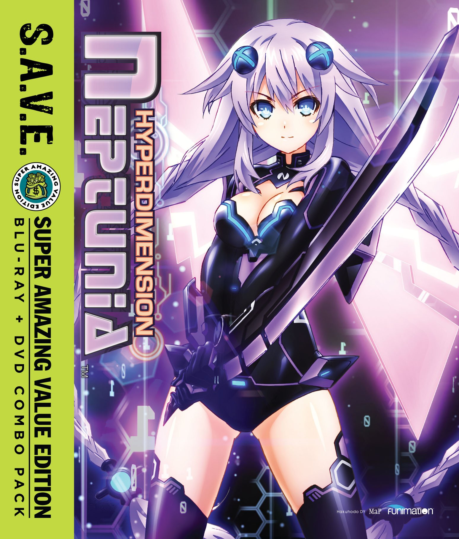 Blu-ray : Hyperdimension Neptunia: The Complete Series - S.A.V.E. (With DVD, , 4 Disc)
