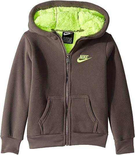 Nike Kids Mens Futura Fleece Sherpa Full Zip (Little Kids)
