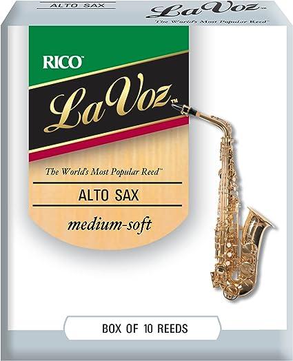 Strength Hard La Voz Clarinet Reeds Box of 10