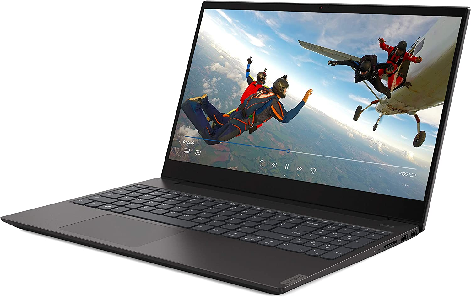 "Lenovo ideapad S340 15.6"" HD LED Backlit Anti-Glare Display Laptop, Intel Core i3-8145U 2.1GHz up to 3.9GHz, 8GB DDR4, 128GB NVMe SSD, Bluetooth, USB 3.1, HDMI, Webcam, Windows 10"