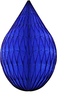 product image for 6-Pack 5 Inch Mini Rain Drop Honeycomb Ornament Decoration (Dark Blue)