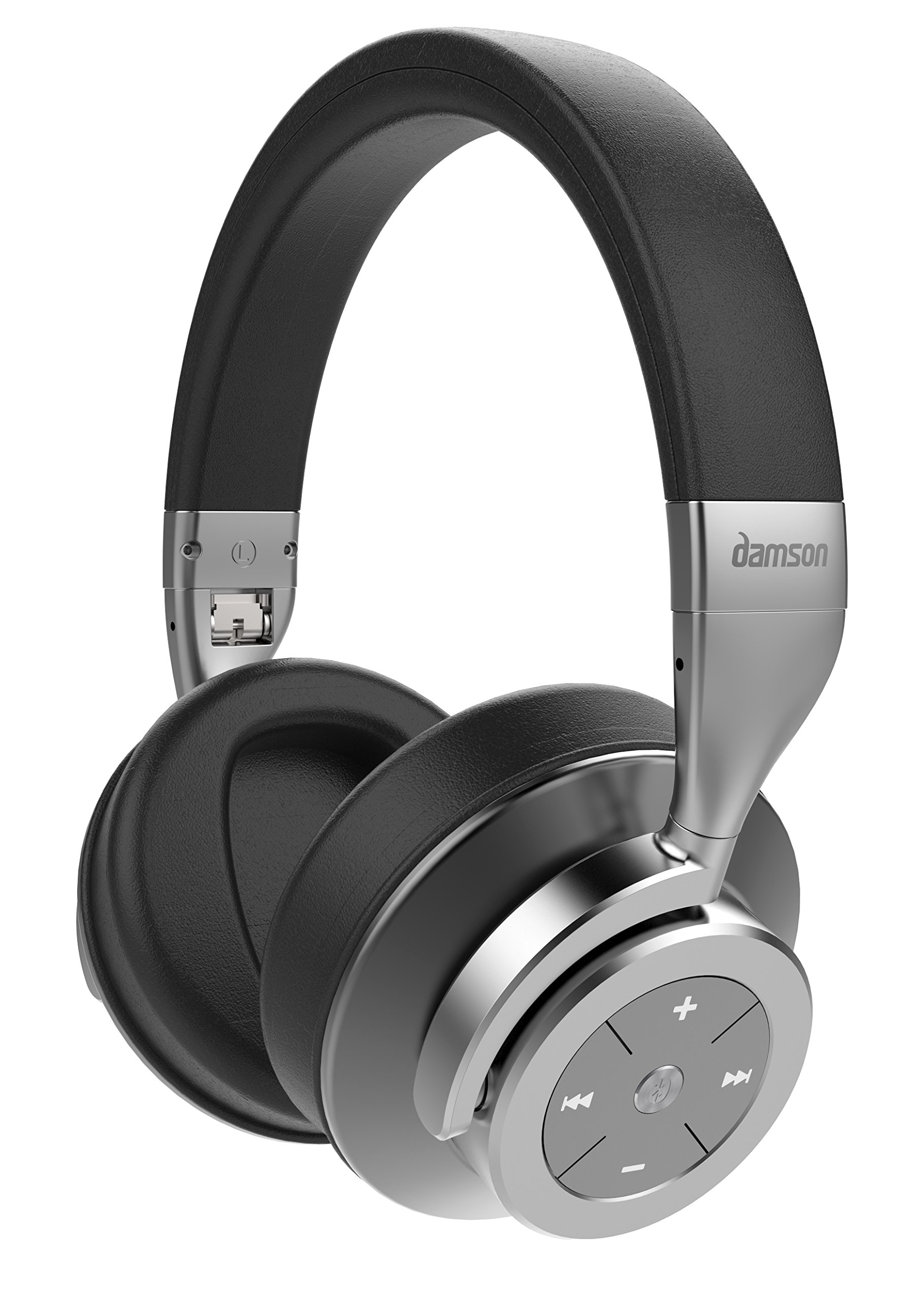 Damson HeadSpace Bluetooth Wireless Over Ear Active Noise Cancelling Headphones by Damson