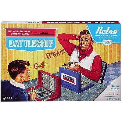 Battleship Game Retro Series 1967 Edition: Hasbro: Toys & Games