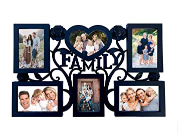 Amazoncom Bestbuy Family Photos Collage Picture Frames Wall