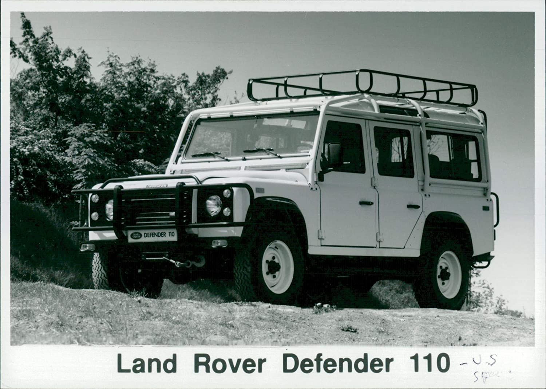 Land Rover Defender 110 >> Amazon Com Vintage Photo Of Land Rover Defender 110