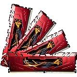 G.SKILL Ripjaws 4 series 32GB 4 x 8GB 288-Pin DDR4 SDRAM 2400 PC4-19200 Desktop Memory Model F4-2400C15Q-32GRR