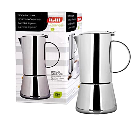 IBILI 620302 ESPRESSO COFFEE MAKER ESSENTIAL INOX 2