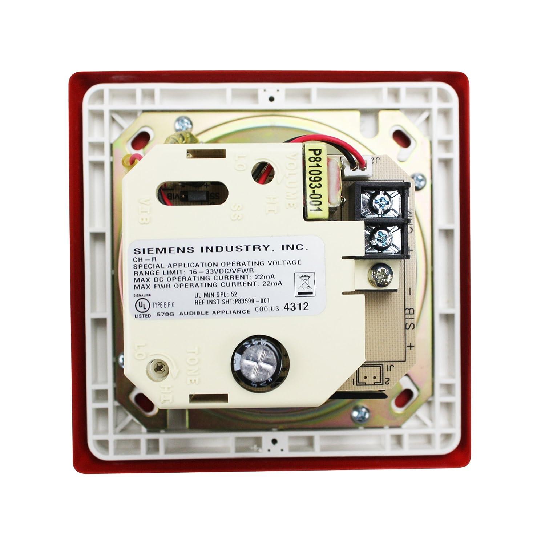 Siemens CH-R 500 - 636019 rojo fuego alarma audible ...