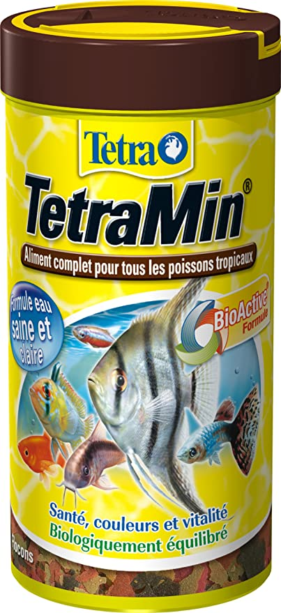 TetraMin - Comida para peces tropicales 250 ml: Amazon.es: Productos para mascotas