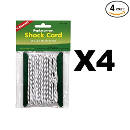 Coghlan'S Replacement Shock Cord 18 Ft. X 3/32 In.
