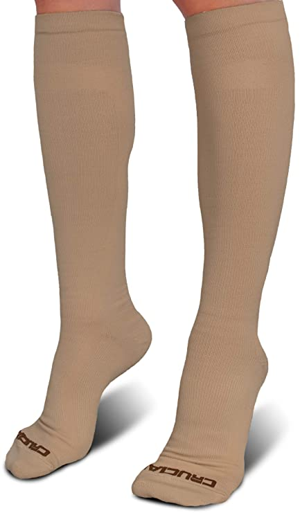 a3f2f3a183 Crucial Compression Socks for Men & Women (20-30mmHg) - Best Graduated  Stockings