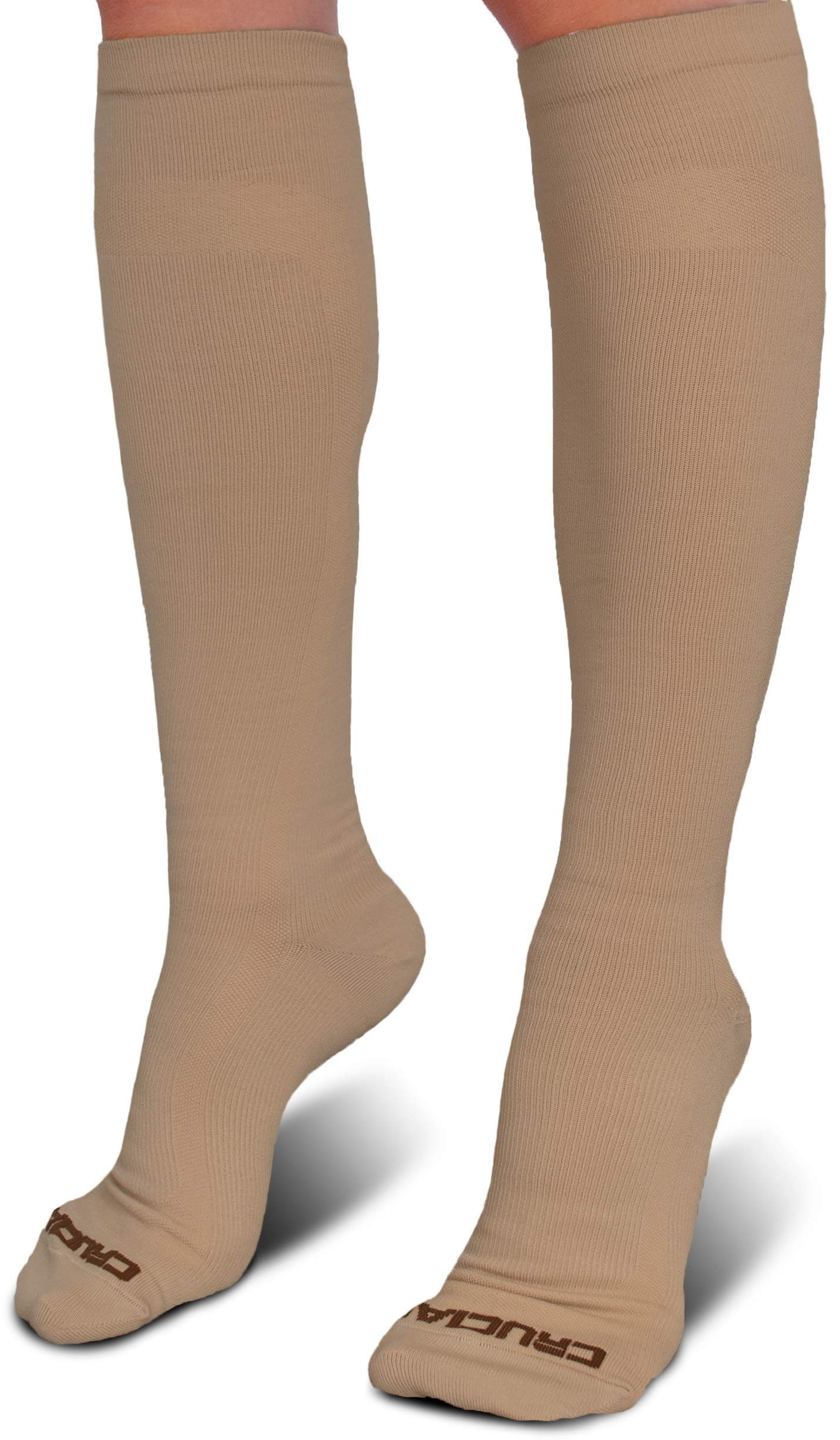 ebf2f42ad9 Crucial Compression Socks for Men & Women (20-30mmHg) - Best Graduated  Stockings