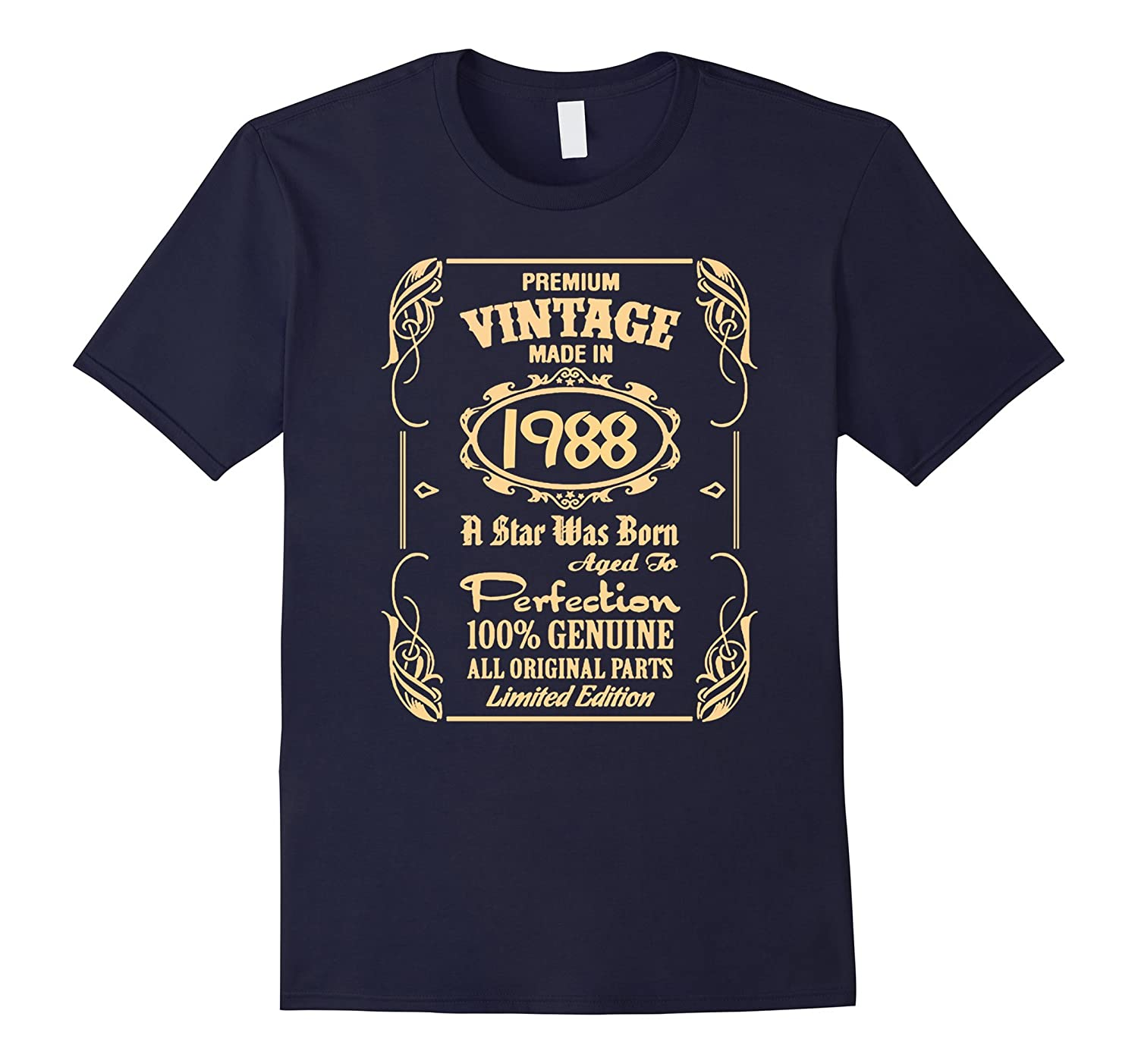 Born in 1988 Tshirt - 29th Birthday 29 Years Gift Tshirt-RT