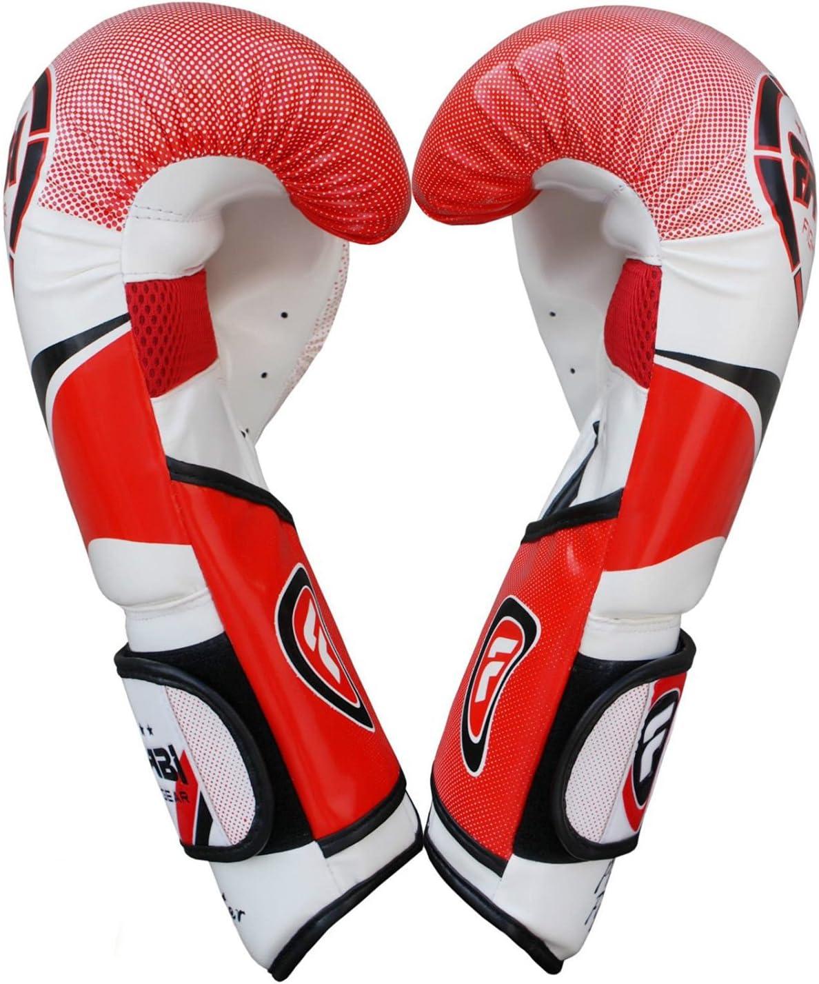 Farabi Boxing Gloves Training Sparring Punching Bag Focus Pads Training Gloves Pair 8-oz 10-oz 12-oz 14-oz 16oz