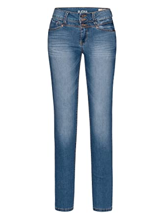 08c17c2477c5 TOM TAILOR Denim Women skinny jeans Jona blue W30 L32  Amazon.co.uk ...