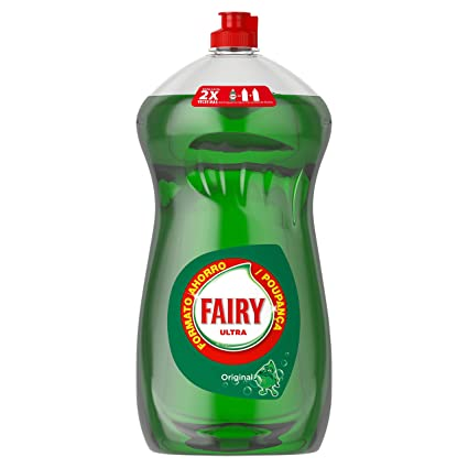Fairy Ultra - Líquido lavavajillas ,1015 ml: Amazon.es ...