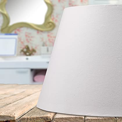 56650af86ea Lamp Shade IMISI Desk Lamp Table Lamp Shade Linen Fabric White Reading Lamp  Shades 7.9 X