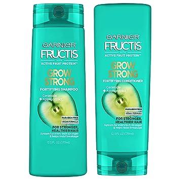 Amazon Com Garnier Hair Care Fructis Shampoo Conditioner Kit Grow Strong Beauty