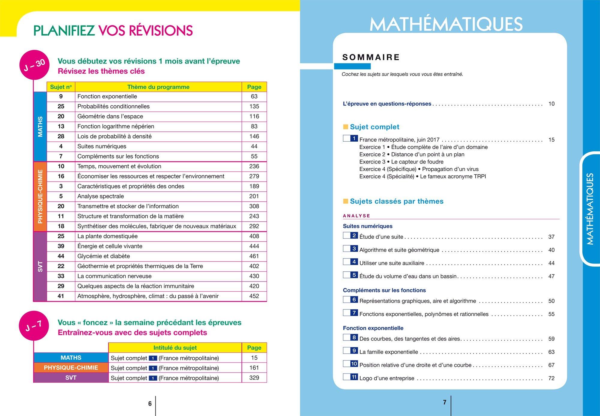 Annales Annabac 2018 Lintégrale Bac S: sujets et corrigés en maths, physique-chimie et SVT: Amazon.es: Hervé Kazmierczak, Christophe Roland, Jérôme Fréret, ...