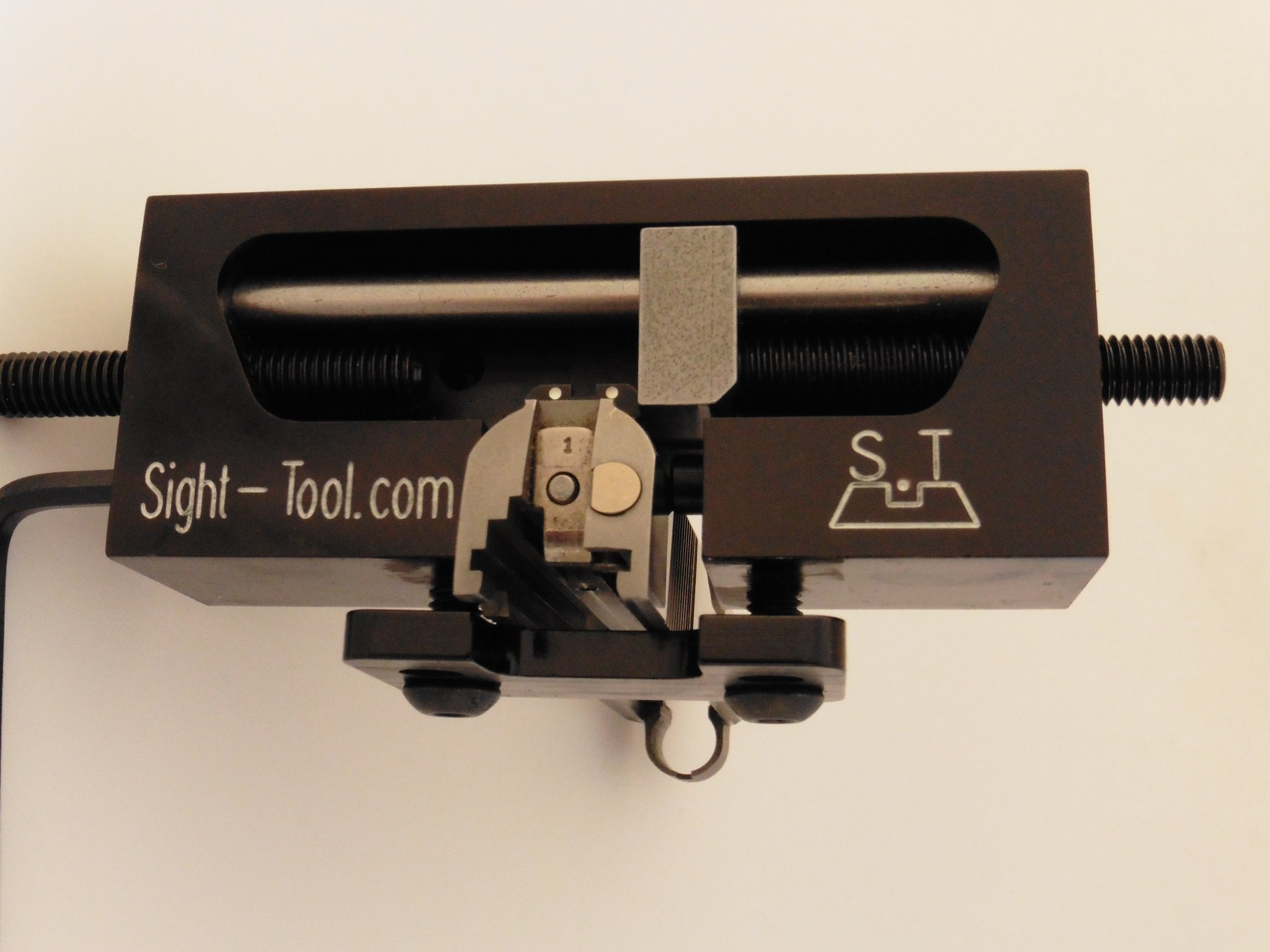 Universal Handgun Sight Pusher Tool for 1911 Sig springfield and others* Best tool on the market for front or rear sights* MADE IN USA by sight-tool.com (Image #2)