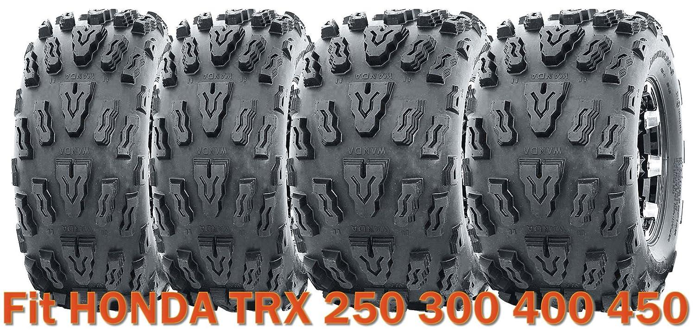 21x7-10 & 20x10-9 Sport ATV Tire Set for HONDA TRX 250 300 400 450 WANDA