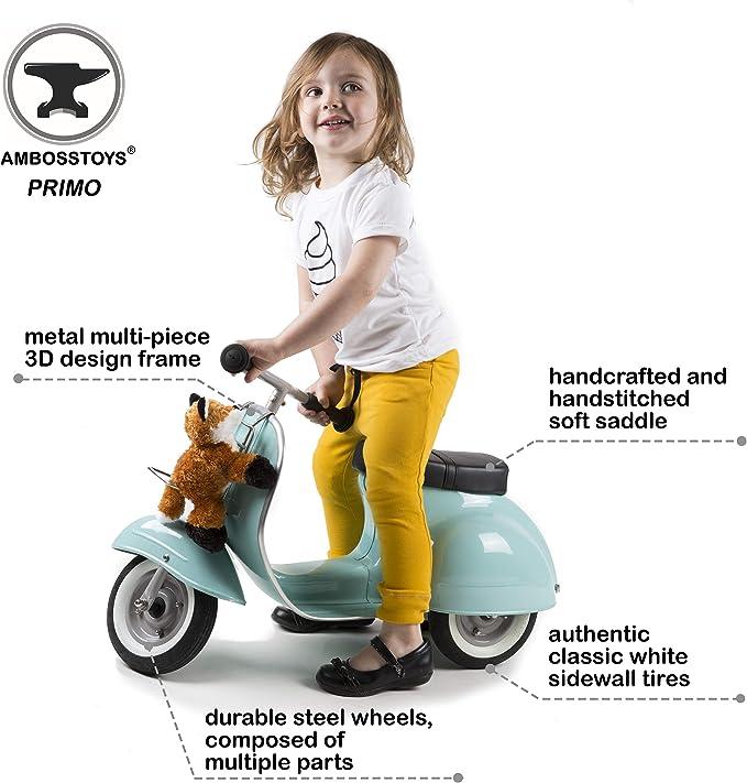Amazon.com: ambosstoys Primo - Patinete para niños y niñas ...