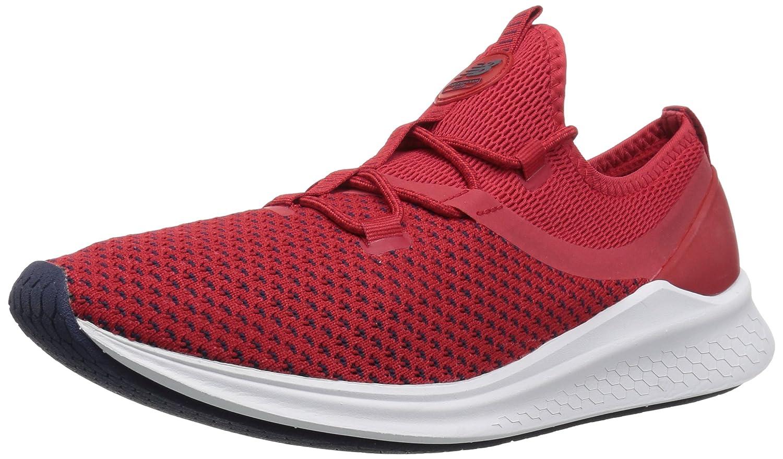New Balance Men's Fresh Foam Lazr V1 Running Shoe B0751Q7ND1 10.5 D(M) US|Team Red/White Munsell