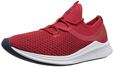 ff8eb1024251a New Balance Men's Fresh Foam Lazr v1 Running Shoe, Team Red/White Munsell,