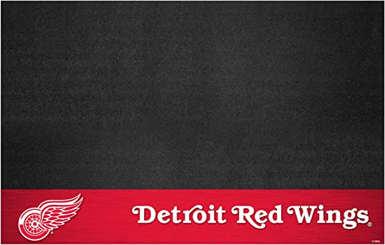 Small Fanmats NHL Detroit Red Wings Grill Mat