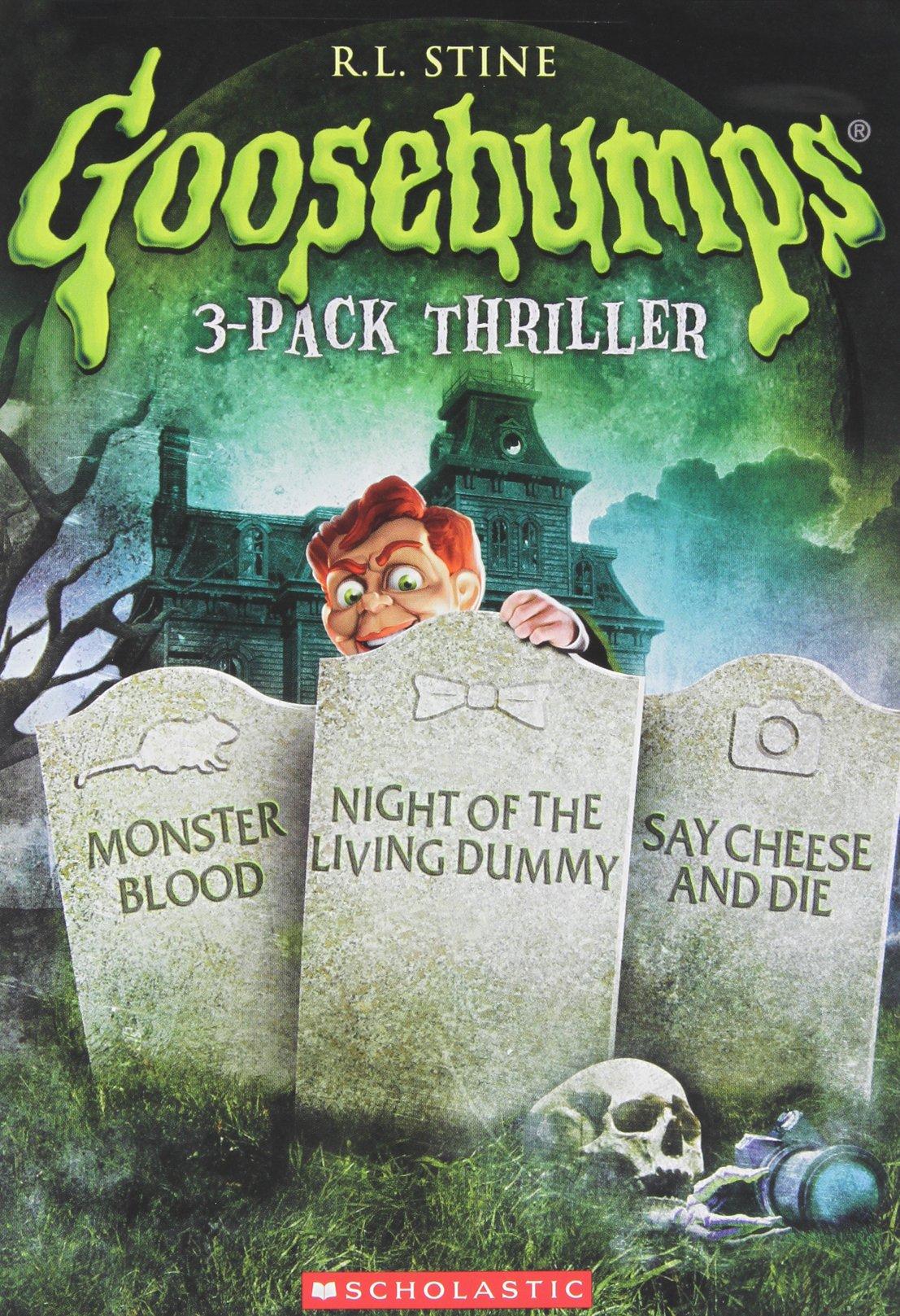 DVD : Goosebumps: Monster Blood / Night of Living Dummy