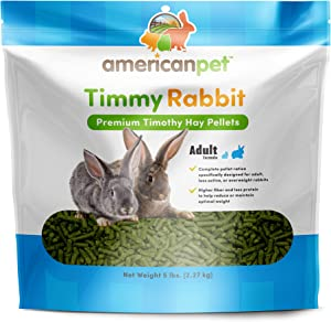 American Pet Diner Timmy Rabbit Pellet, Blue